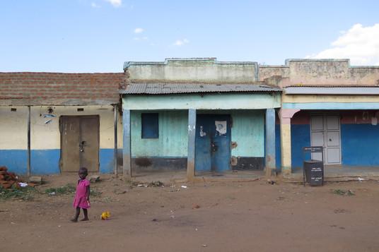 A little African girl in the poor Kotido, Karamoja, Uganda