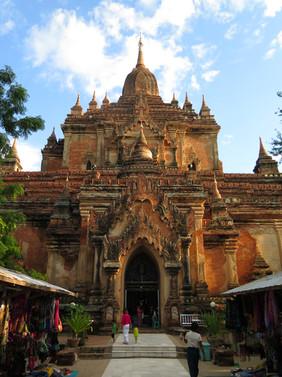 Beautiful temple in Bagan