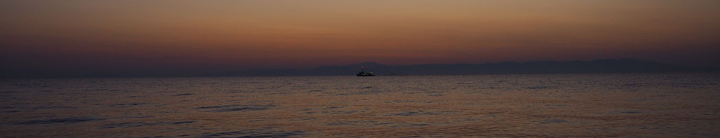 A vessel in the aegean sea, Lesvos
