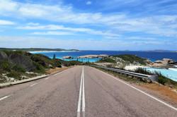 road to the beach in Albany, Western Australia