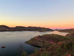 Lake Argyle at Sunset, Western Australia