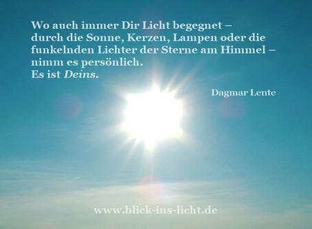 Zitatkarte: Dein Licht