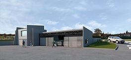 Infografía de las instalaciones que serán costeadas por Cogersa.