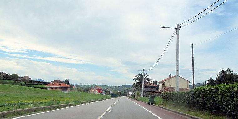Carretera general de Guimarán. (E. F.)