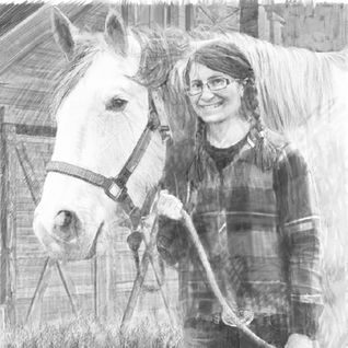 Heather and Horse