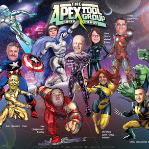 Apex Tools Superheros