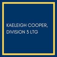 Kaeleigh Cooper, Division 3 LTG