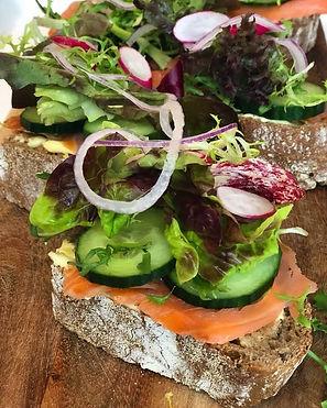sandwich bedrijfslunch