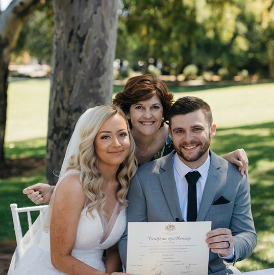 Tahlia and Aidan thanks to Hannah Benwel