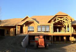 construction ossature chalet