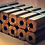 Thumbnail: bûches calorifiques de bois compressé
