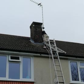 Swindon Aerial installation