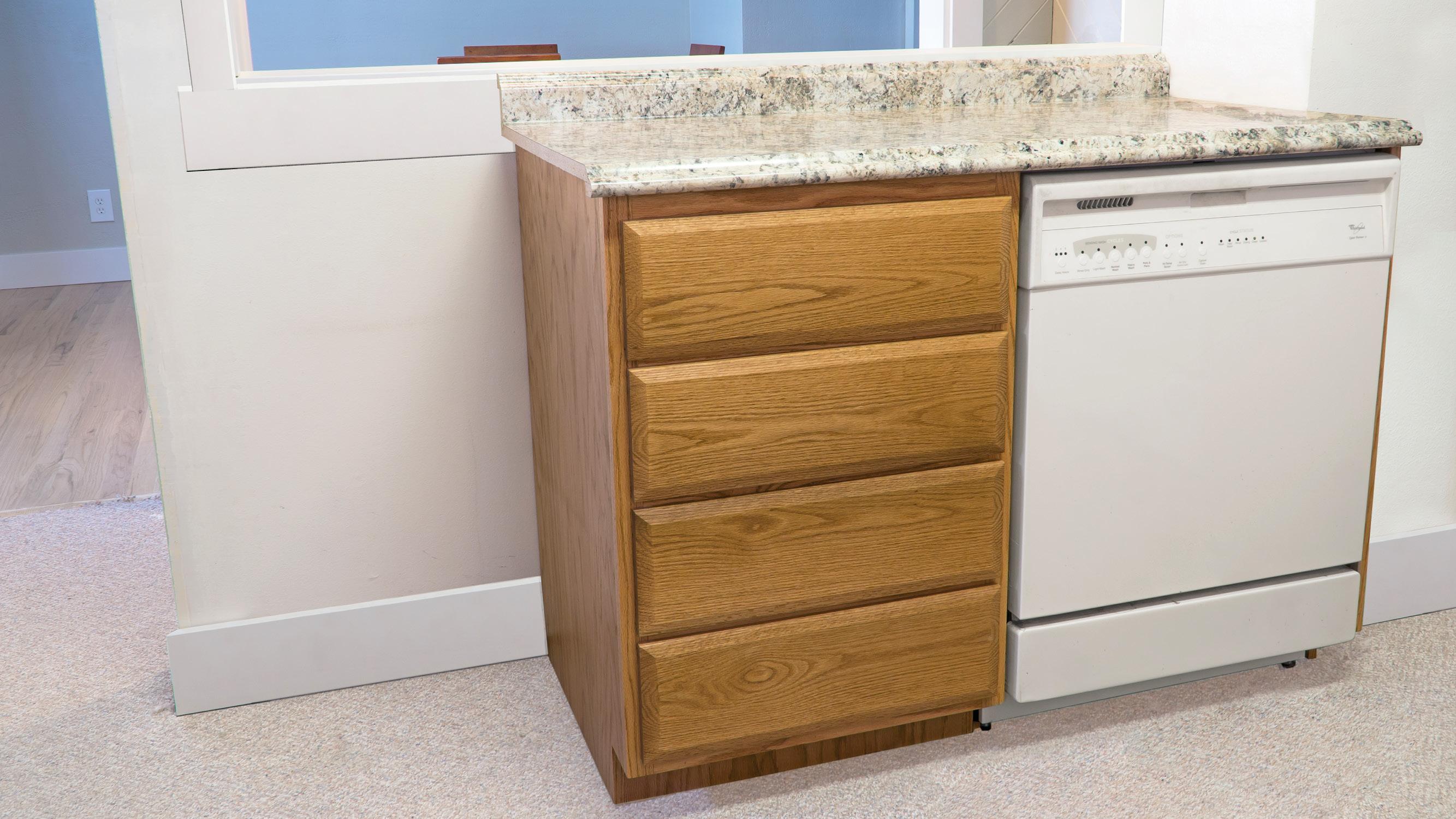 Kitchen Dishwasher Cabinet