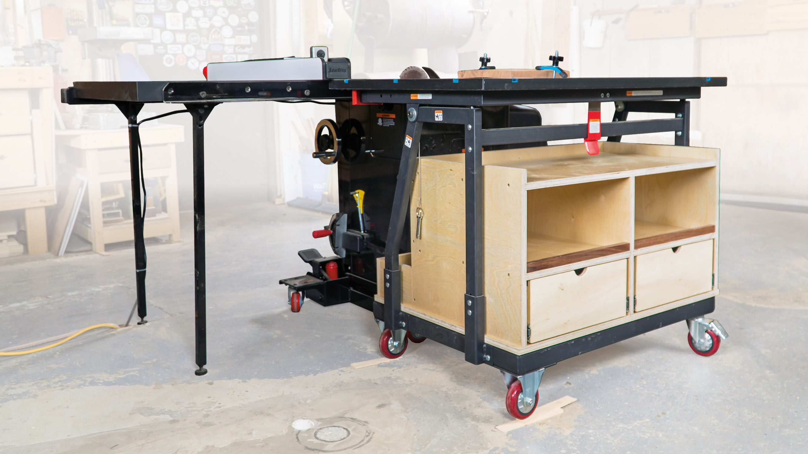 T-Track Outfeed Table