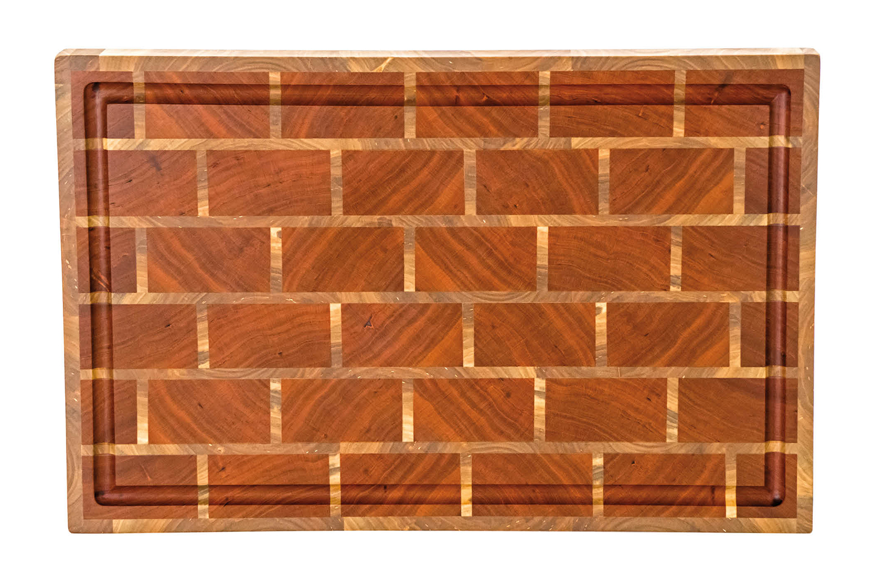 Brick Wall Cutting Board