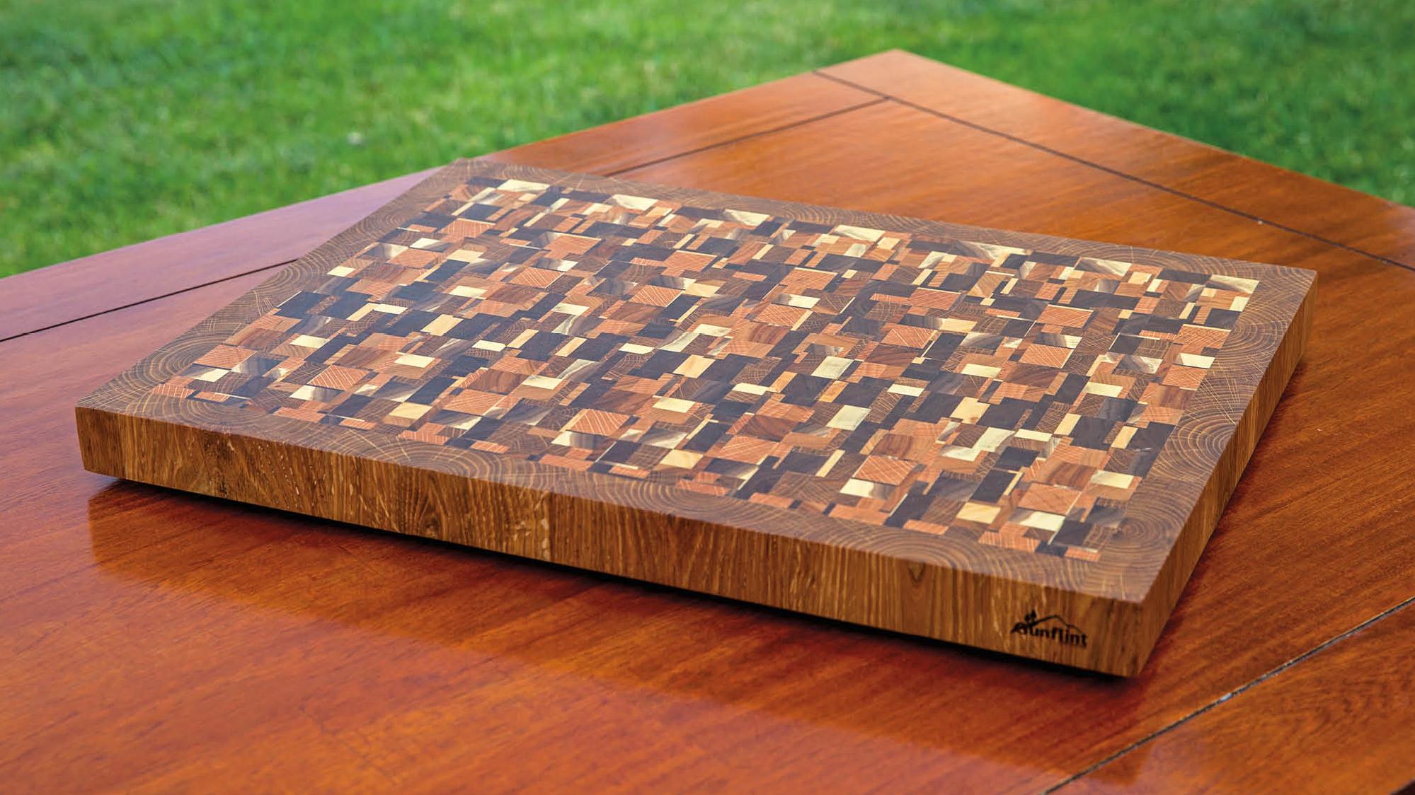 Chaotic Cutting Board
