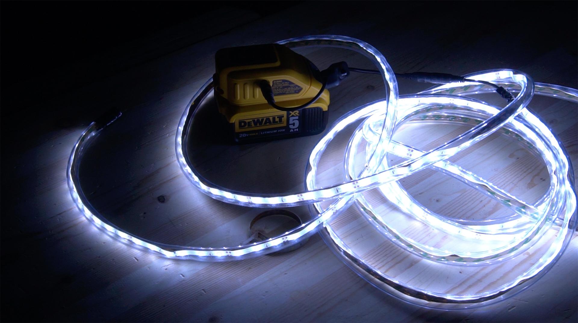 DIY LED Rope Lighting