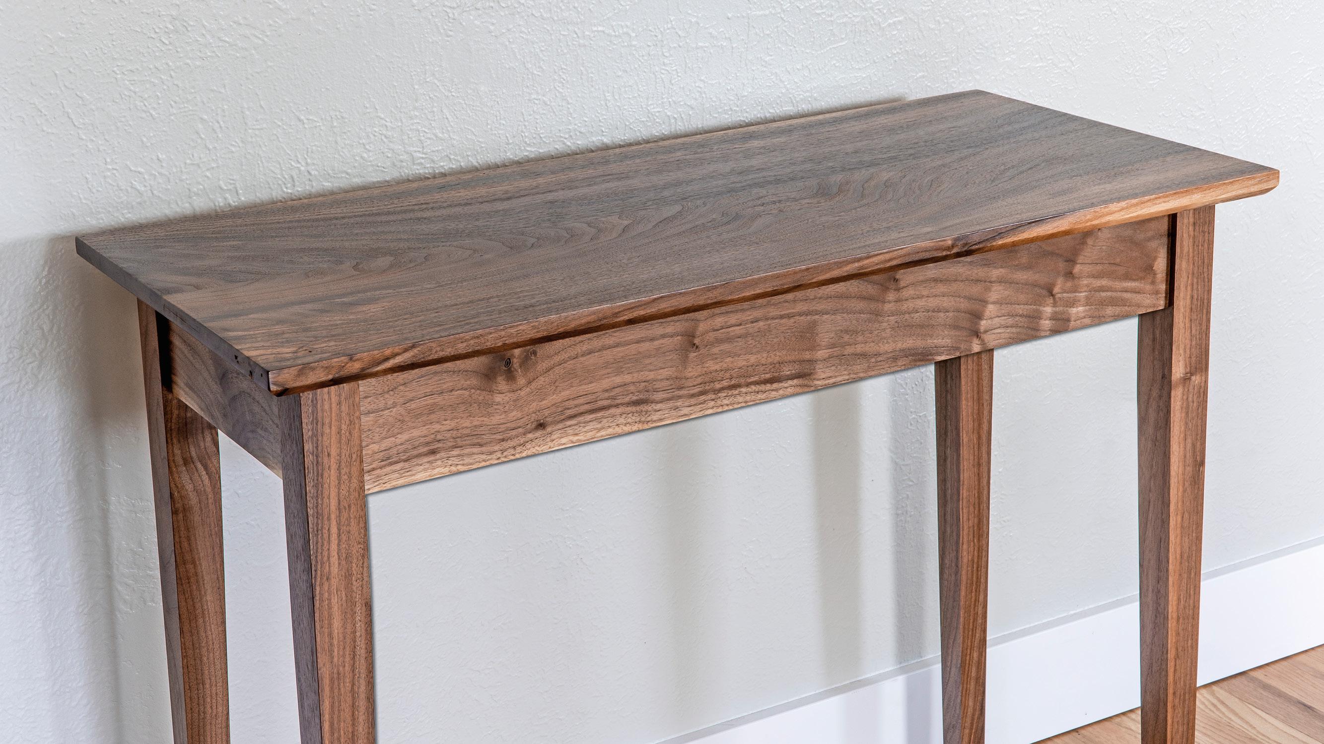 Hall Table Hidden Storage