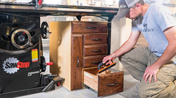 Table Saw Storage Cabinet