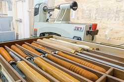 Sliding Lathe Tool Storage