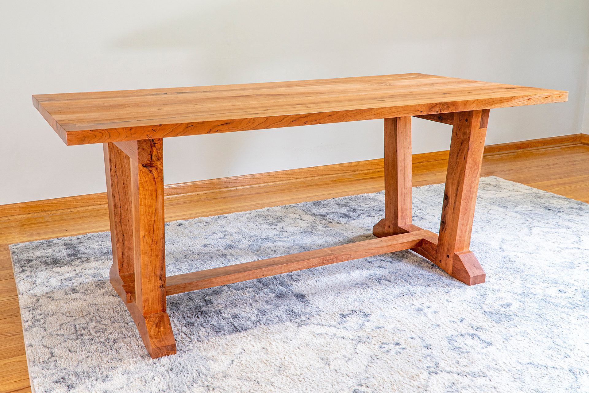 Trestle Table Collapsible Dining Plans Gunflintdesigns