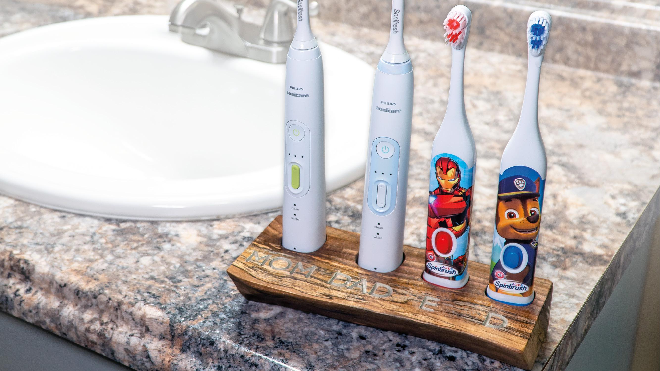 Family Toothbrush Holder