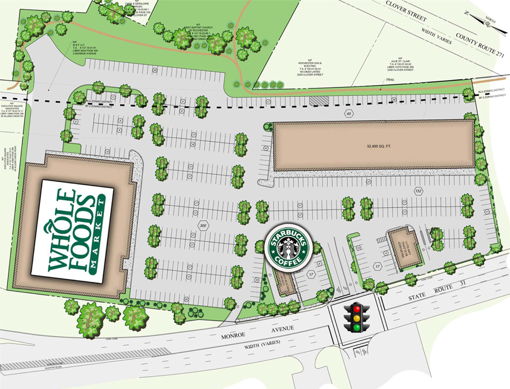 Whole Foods Plaza Site Plan