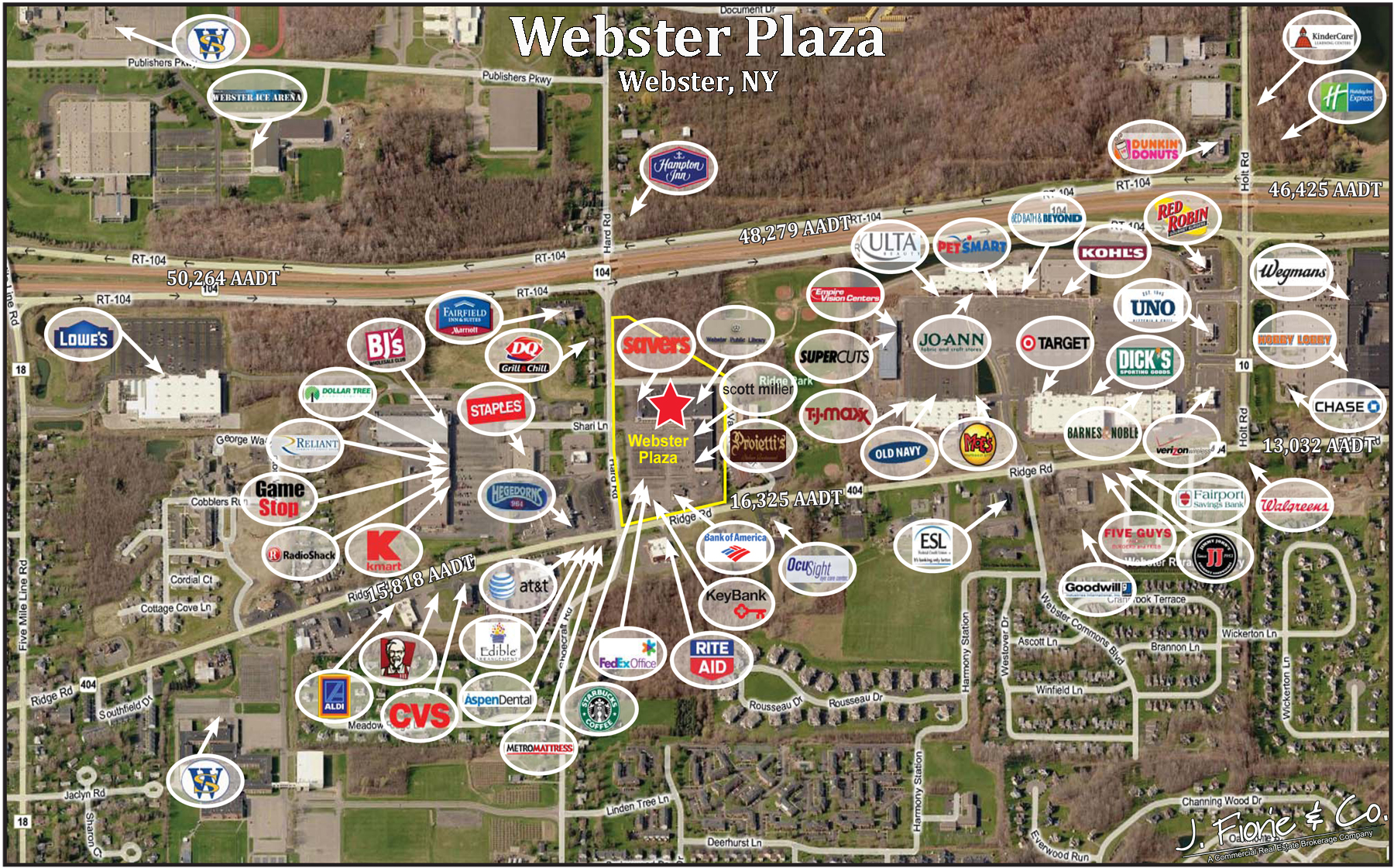 Webster Plaza Aerial Pic