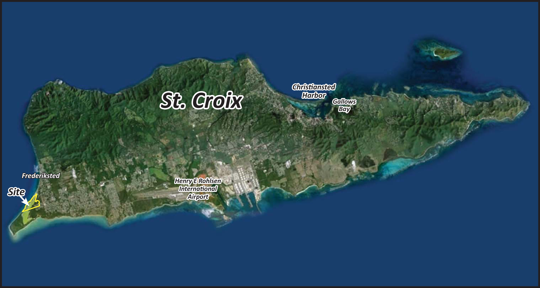The Island of St Croix, US VI