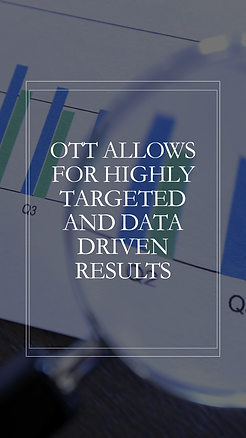 OTT Solutions maximize your advertising