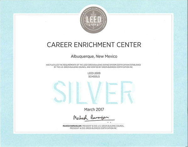 CEC LEED Silver Certification.jpg