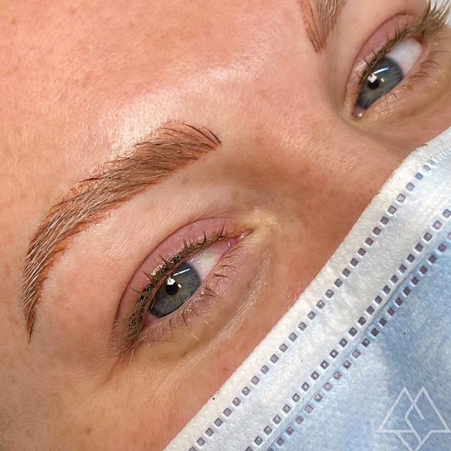Eyeliner + Brows