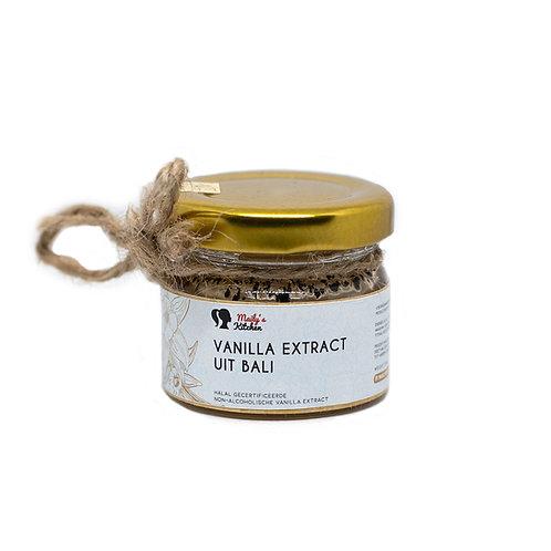Vanille-extract uit Bali (25ml)