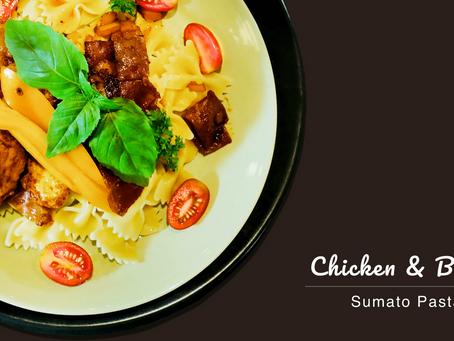 5 Ingredients Chicken Sumato Pasta