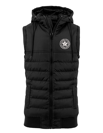 Eightyfourbastards Steppveste Schwarz