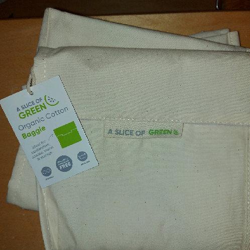 Organic cotton large baggie