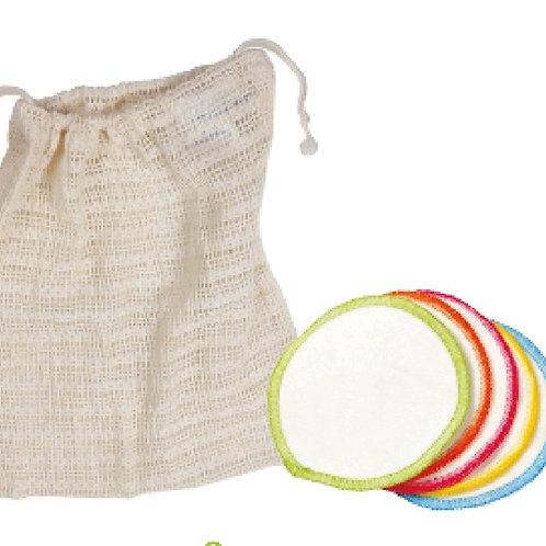 Organic Cotton Reusable Make Up Wipes