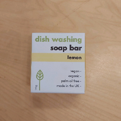 Washing up soap bar lemon 155g