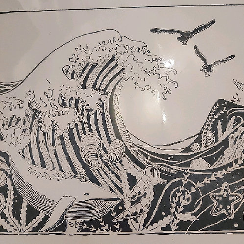 Secret of the sea print