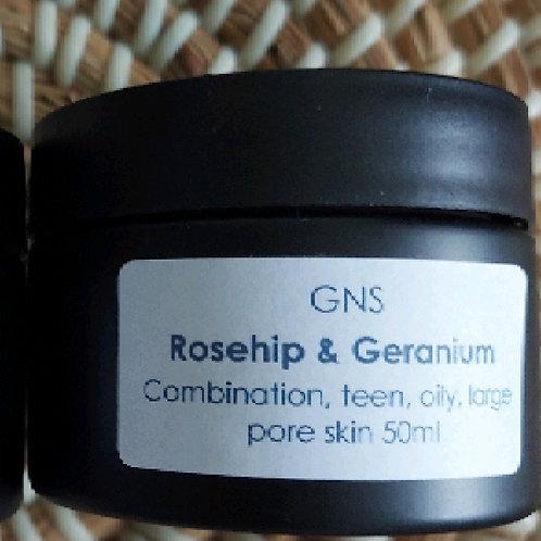 Rosehip & Geranium Moisturiser