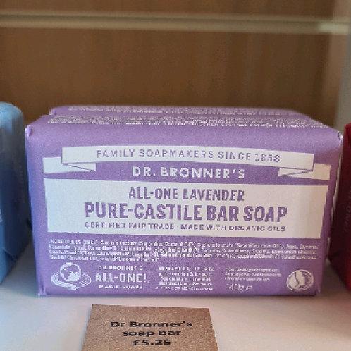 Dr Bronner's soap bar
