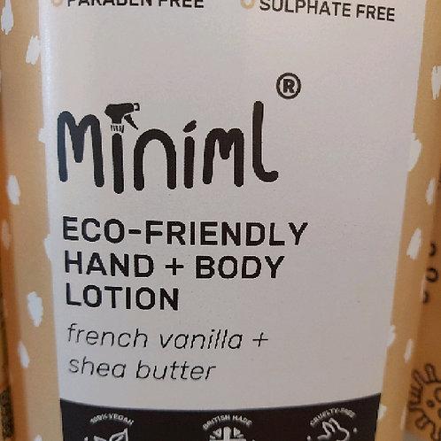 Miniml hand & body lotion refill