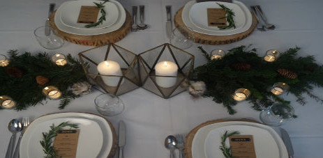 RUSTIC CHRISTMAS DINNER PARTY INSPIRATION