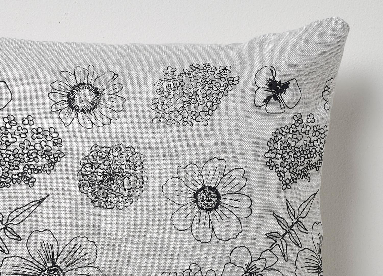 Screen Printed linen cushion