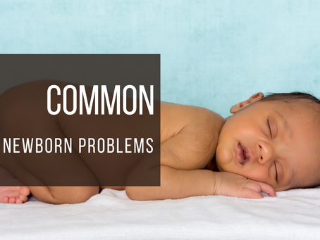 5 COMMON NEWBORN PROBLEMS