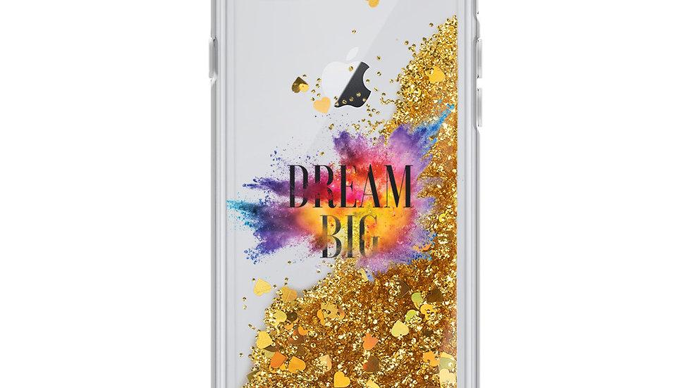 Dream Big Liquid Glitter Phone Case