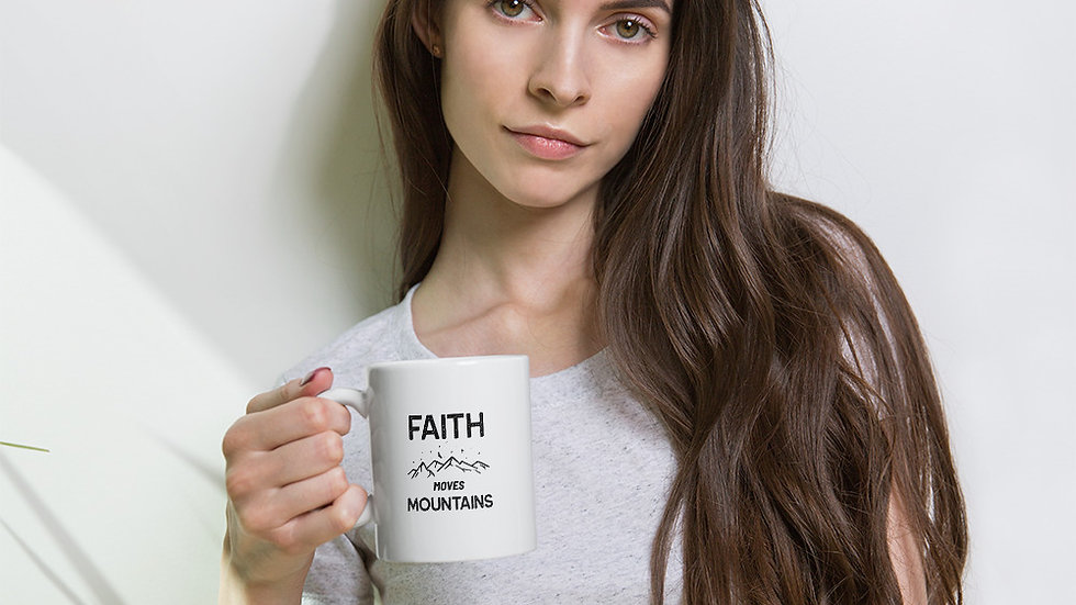Faith Moves Mountains Mug