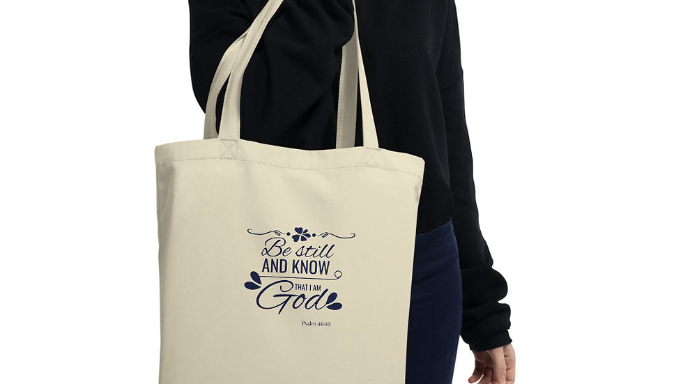 Be Still Eco Tote Bag