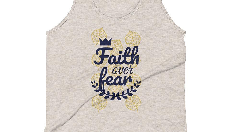Faith Over Fear Unisex Tank Top