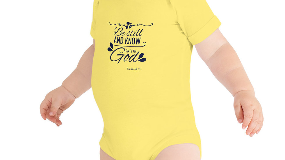 Be Still Onesie